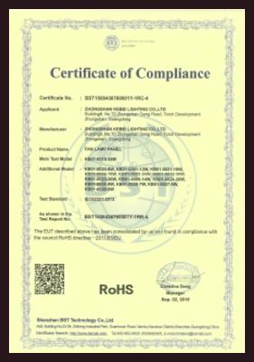 R0HS证书